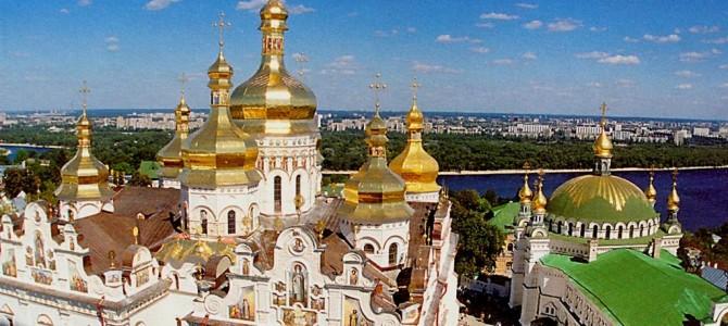 Kiev, scurta radiografie a contrastului
