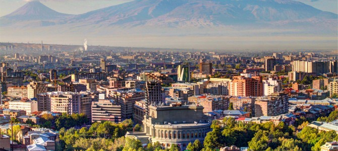 Impresii din Yerevan