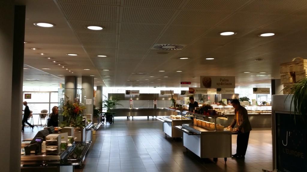restaurant parlamentul european Strasbourg