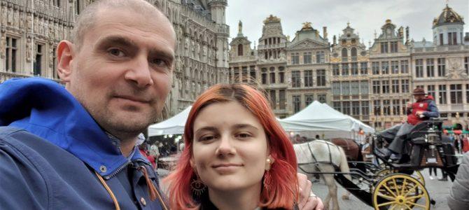 Tată de fată | City break la Bruxelles