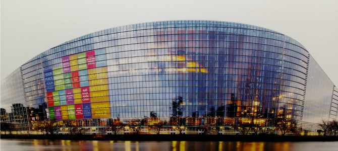In spatele scenei. Parlamentul European din Strasbourg