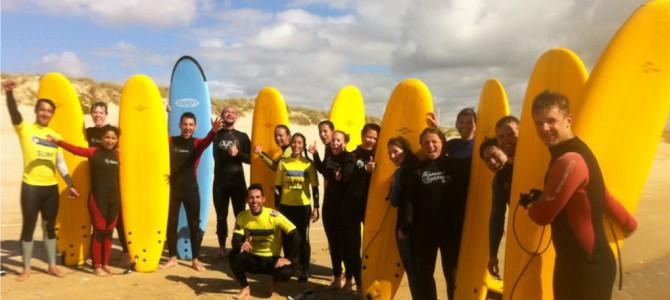 Viaţa pe o placă de surf