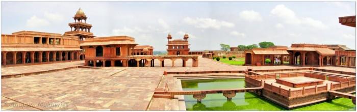 Fatehpur Sikri. Sursă foto: http://www.panoramio.com/photo/58420281