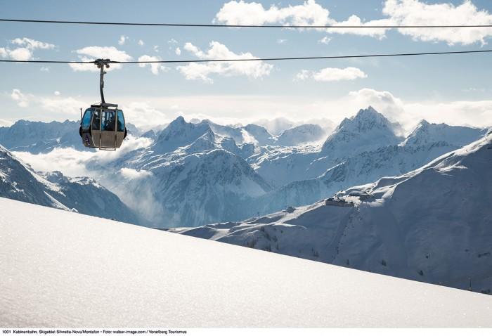 1001_Kabinenbahn, Skigebiet Silvretta-Nova/Montafon