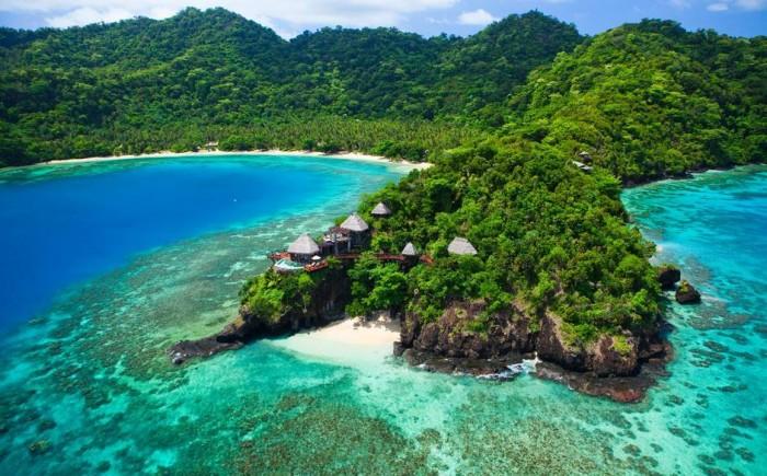 Laucala+Island+aerial
