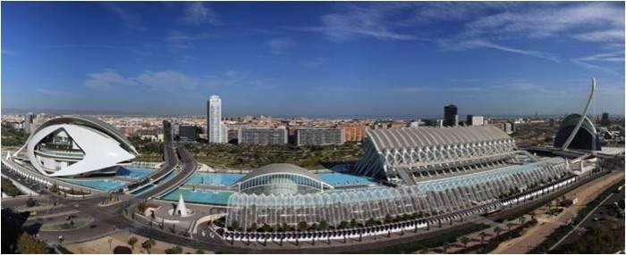 Orașul Artelor și Științei. Sursă foto: www.eoi.es