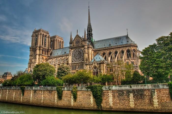 Notre Dame. Sursa foto: www.theplanetd.com