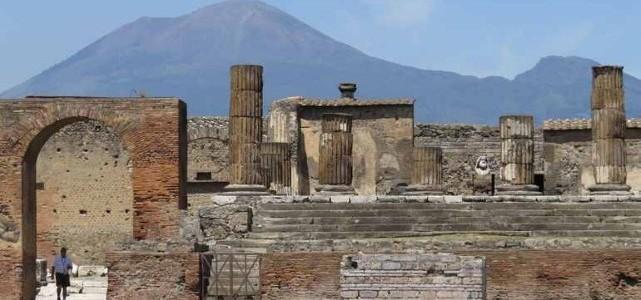Italia și minunile ei: Vezuviu și Pompei