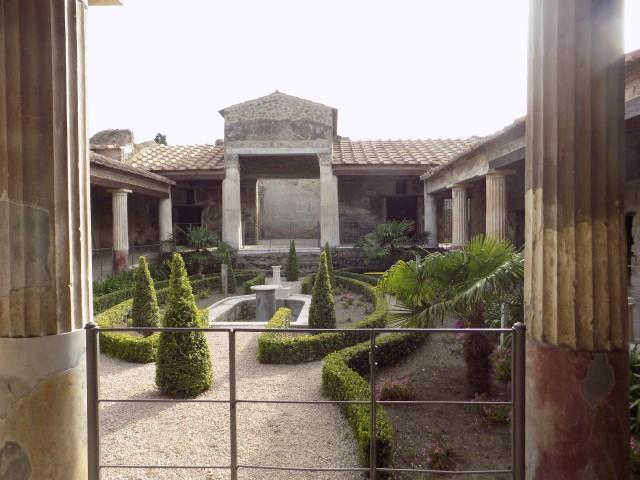 Curte interioara a unei resedinte