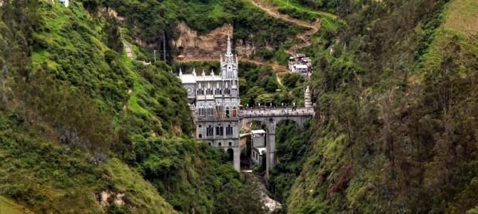 """Legenda Catedralei """"Las Lajas"""" – Columbia"""