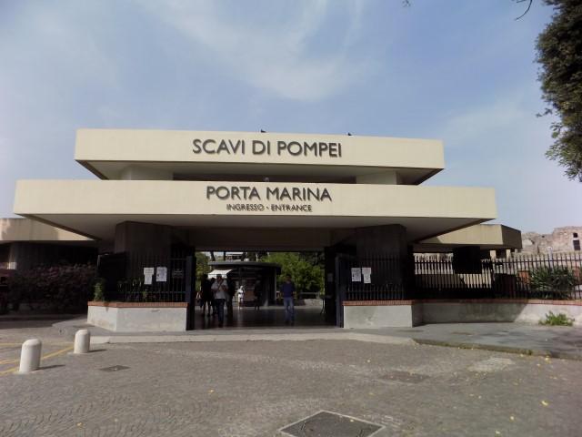 Intrarea in Pompei