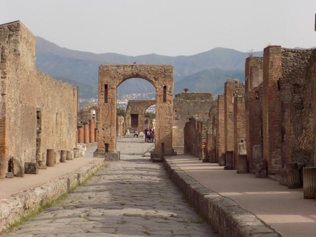Strada in orasul antic