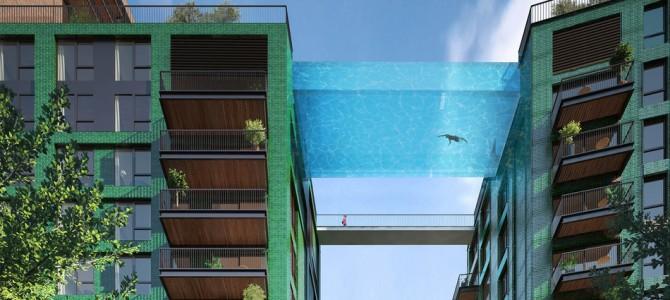 Prima piscină suspendată din lume