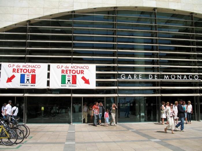 Gara Monaco. Sursa foto: www.commons.wikimedia.org