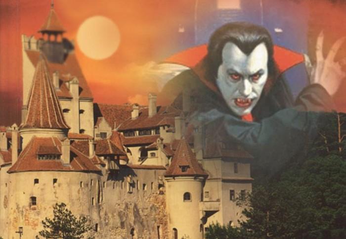Dracula si castelul
