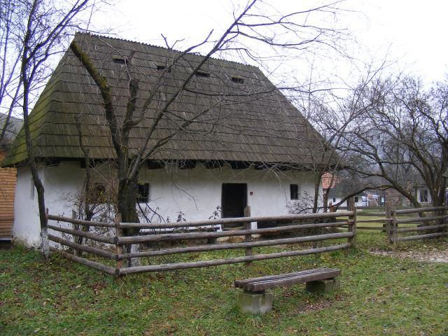 casa din Muzeul Satului Branean