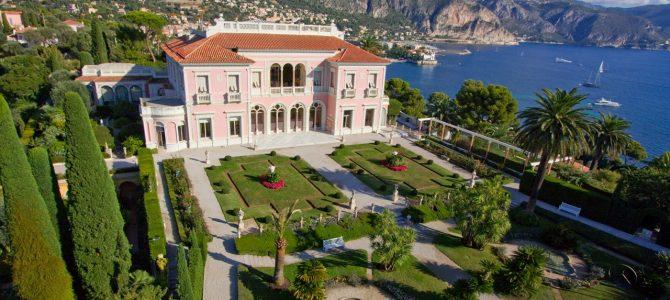 In Paradis, la Vila Ephrussi de Rothschild