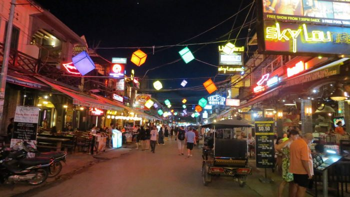 Pub Street, Night Market - Siem Reap