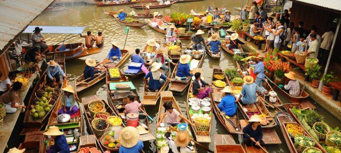 Piețele plutitoare ale Bangkok-ului