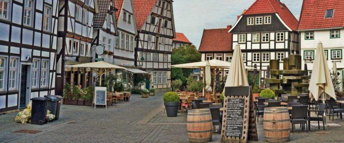 Centrul orasului Soest