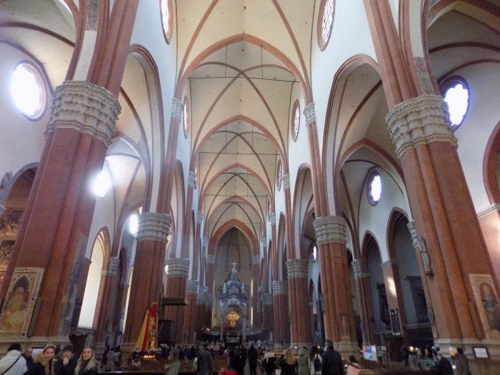 Basilica San Petronio - interior