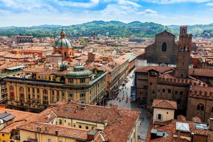 Bologna. Sursa foto: http://blog.eurail.com