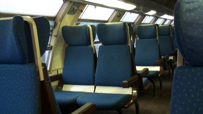 Interior tren Regio