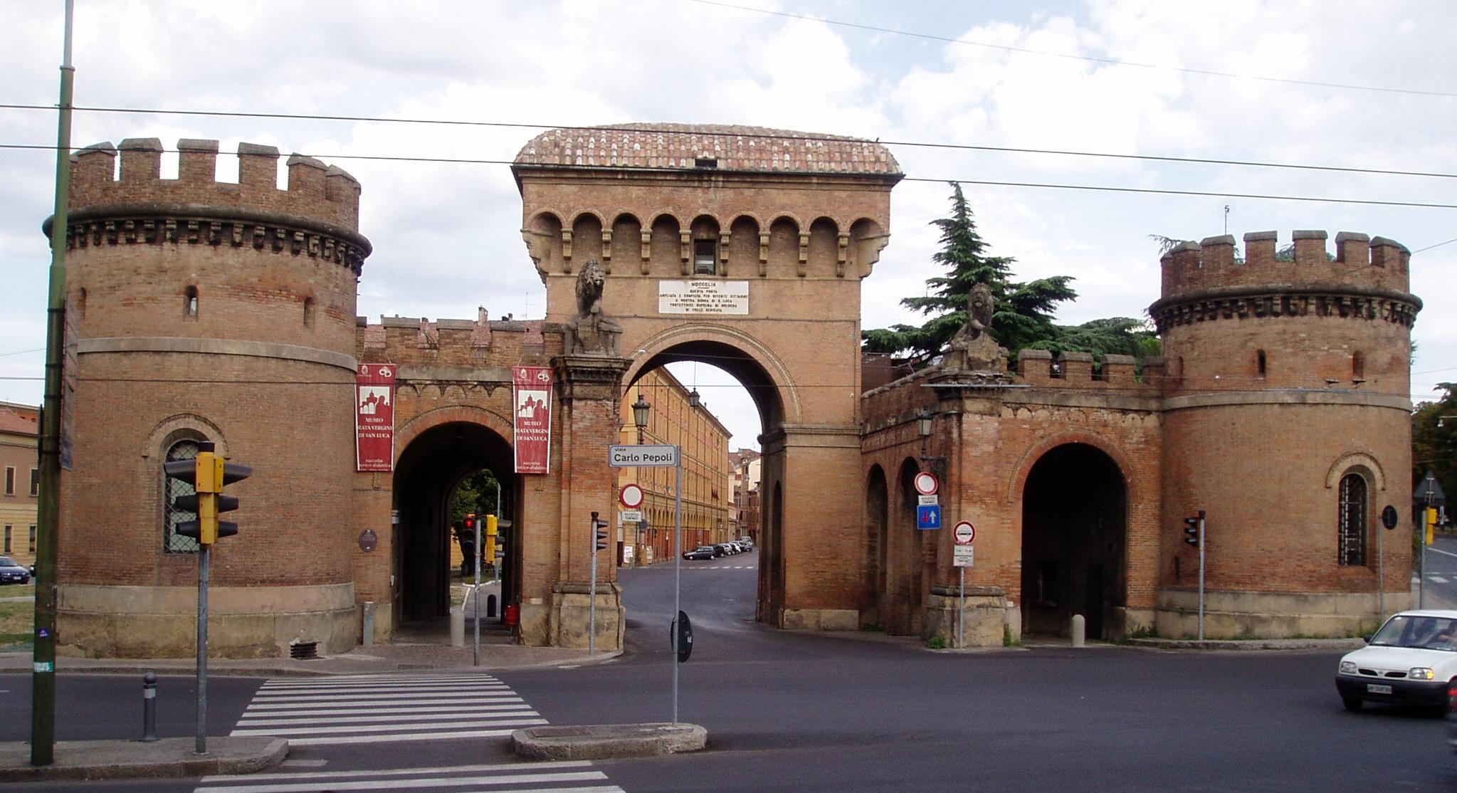 Italia i minunile ei bologna impresii si sfaturi de - Porta san vitale bologna ...