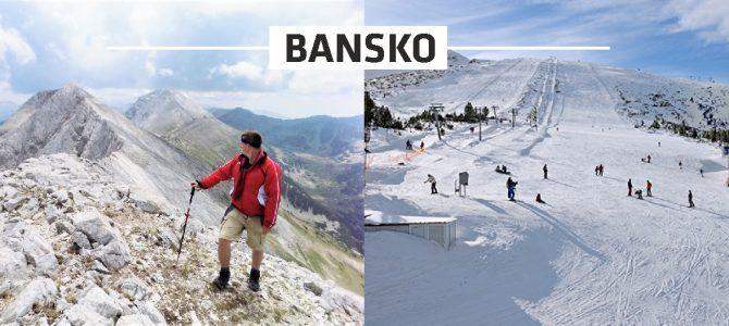 Iarna ski, vara drumeții – Bansko, Bulgaria