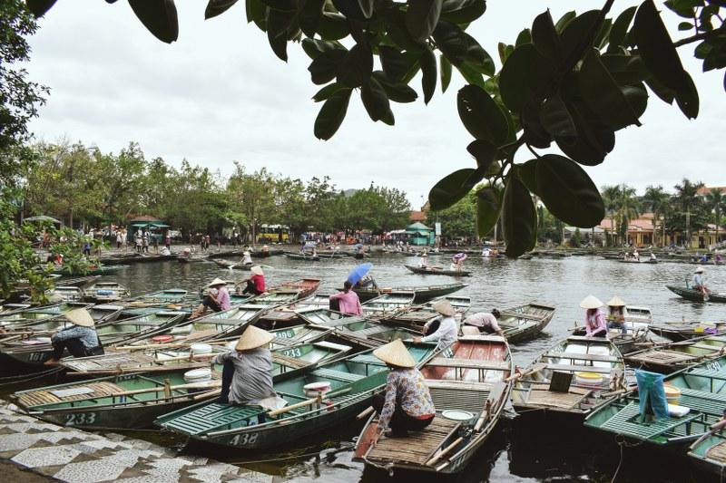 Barcagii din Tam Coc