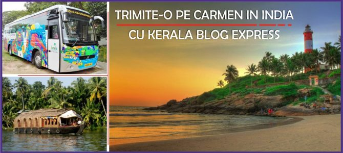 Trimite-o pe Carmen in India cu Kerala Blog Express