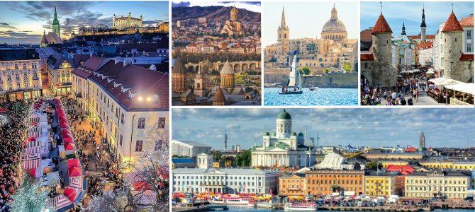 5 capitale europene care te vor surprinde