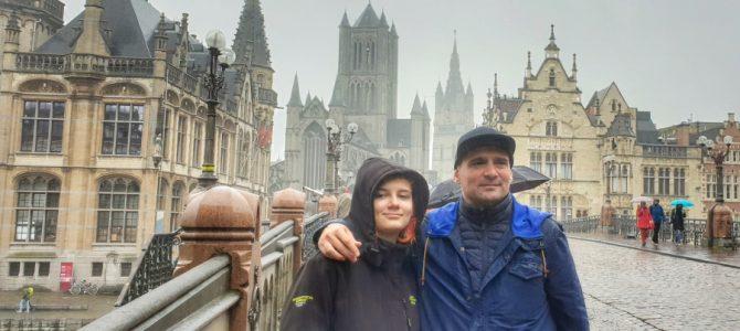 Tată de fată | City break în Gent