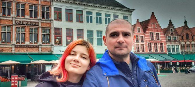 Tată de fată | City break în Bruges